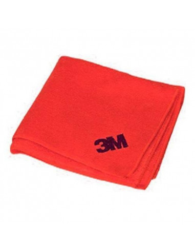 Paño Microfibra 3m Multiuso Rojo...